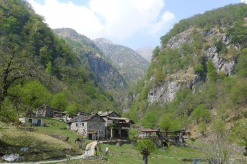 Wanderung zum Crotto Dangri